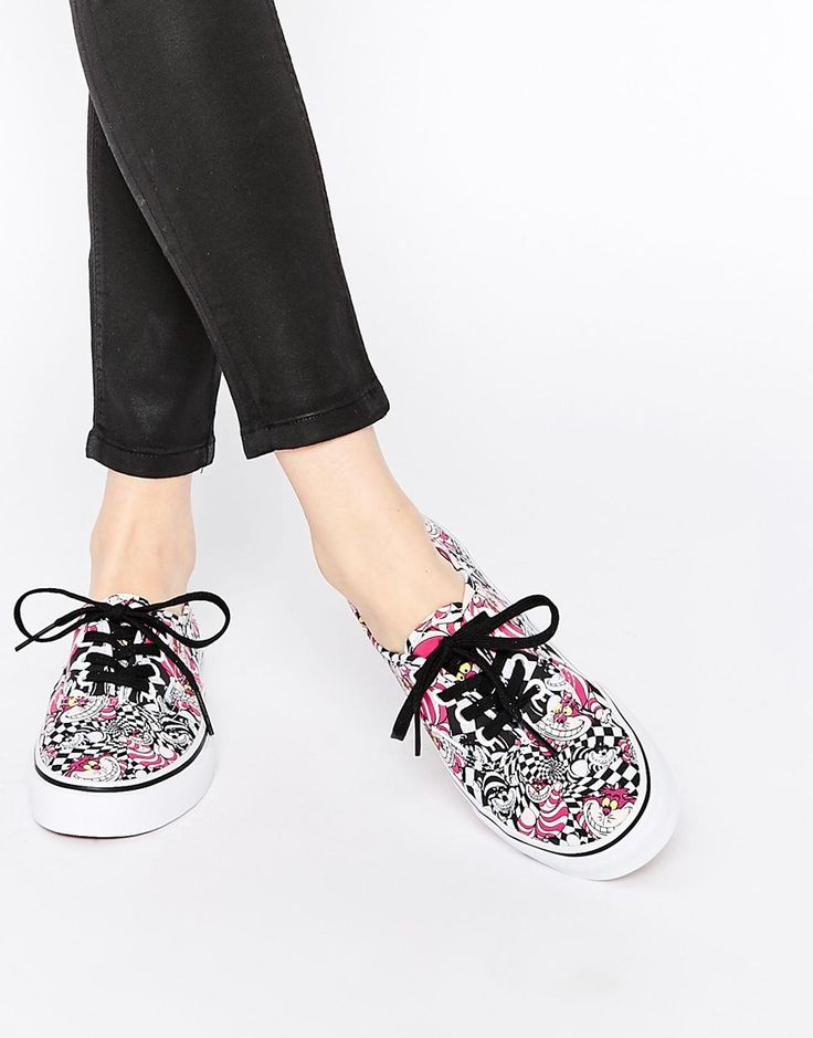 Image 1 of Vans Disney Cheshire Cat Authentic Trainers