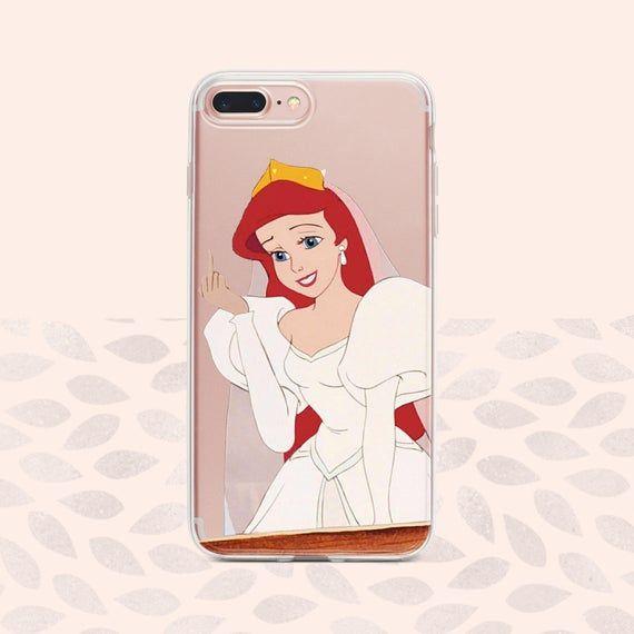 Disney princess and ariel tumblr floral iphone case