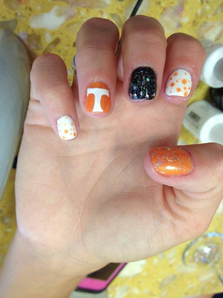 8 best Go Big Orange!! images on Pinterest | Football nails, Soccer ...