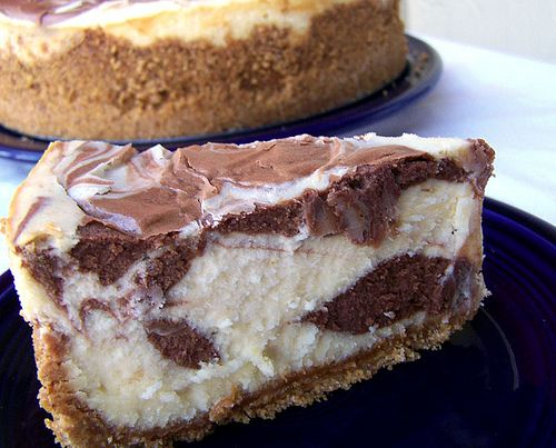 Black and White Chocolate Cheesecake Supreme.  Want to try this with an oreo crust.
