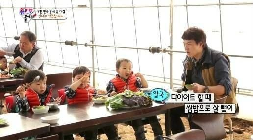 Helping appa with his diet: Picking & eating fresh green vegetables are good for you (Ep.74). Watch the clip here: https://www.youtube.com/watch?v=FEkgj2DCXyw