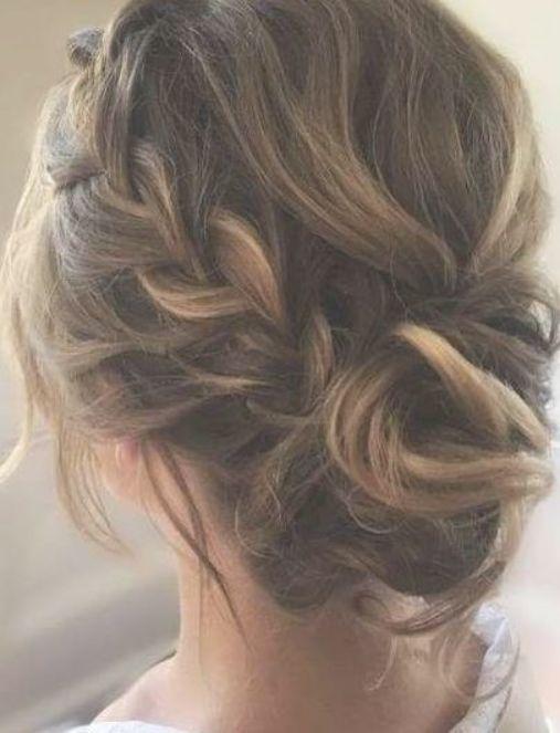 Invitado a la boda updo flequillo cabello de dama de honor 41+ ideas # cabello # boda