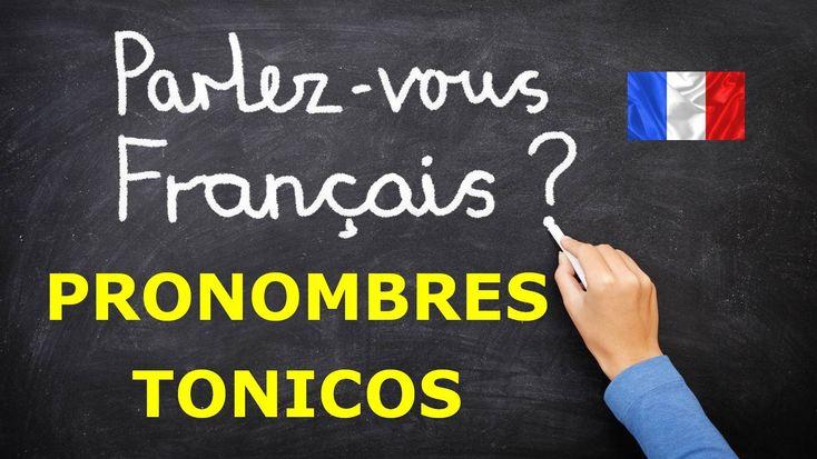Pronombres tonicos en frances. Gramatica francesa facil
