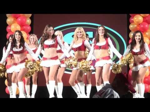 49ers Draft Party 2011 - Goldrush Cheerleaders 2