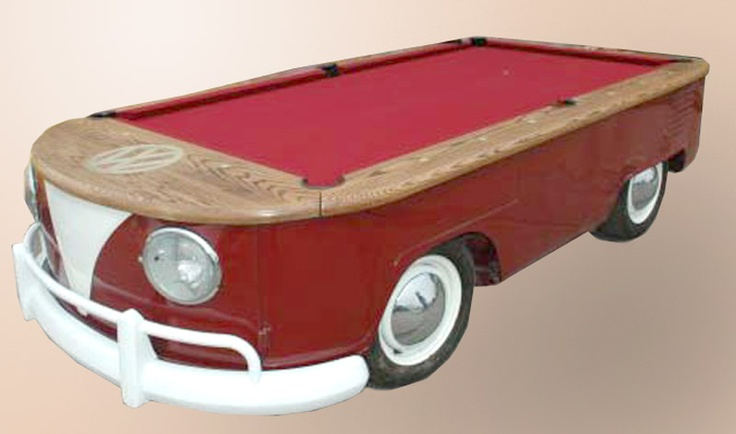 VW Bus Regulation Pool table