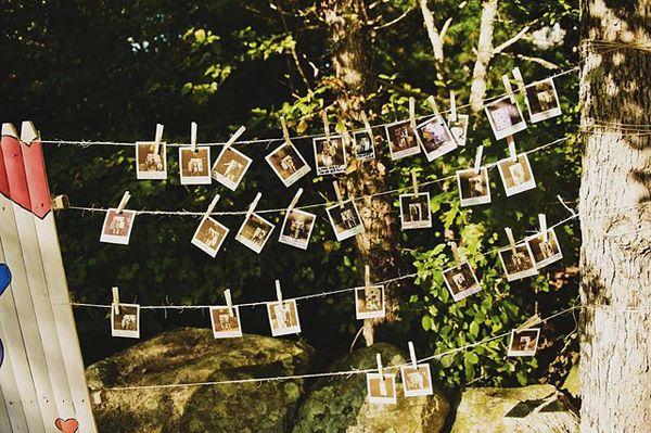 Foto's op je bruiloft - Tips voor het gastenboek, huwelijksbedankje en decoratie! | ThePerfectWedding.nl