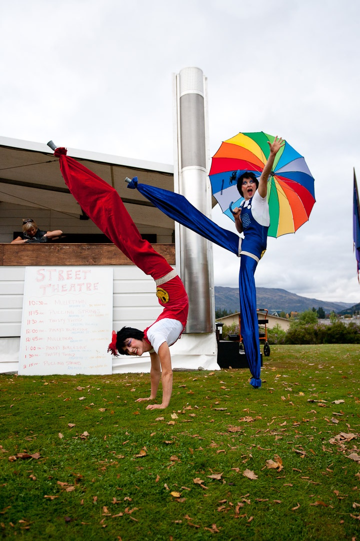 Street Theatre 2011, Festival of Colour Arts Festival, Wanaka, New Zealand