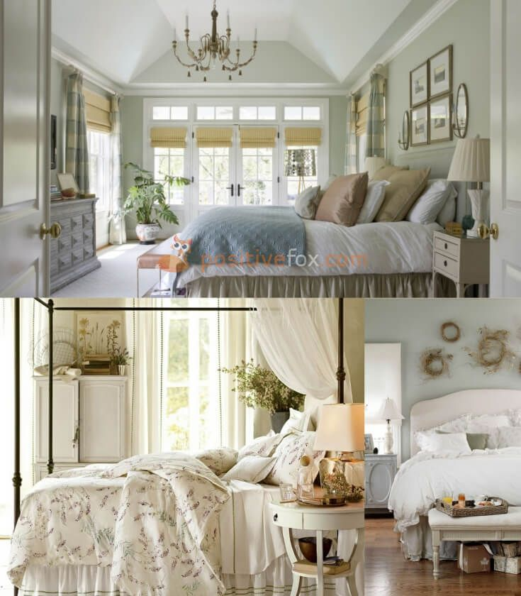 Provence Bedroom | A Provence style interior is the most gentle and romantic of all interior design styles. As such, a Provencal bedroom is an ideal choice for a romantic soul | Explore more Provence Bedroom Ideas on https://positivefox.com