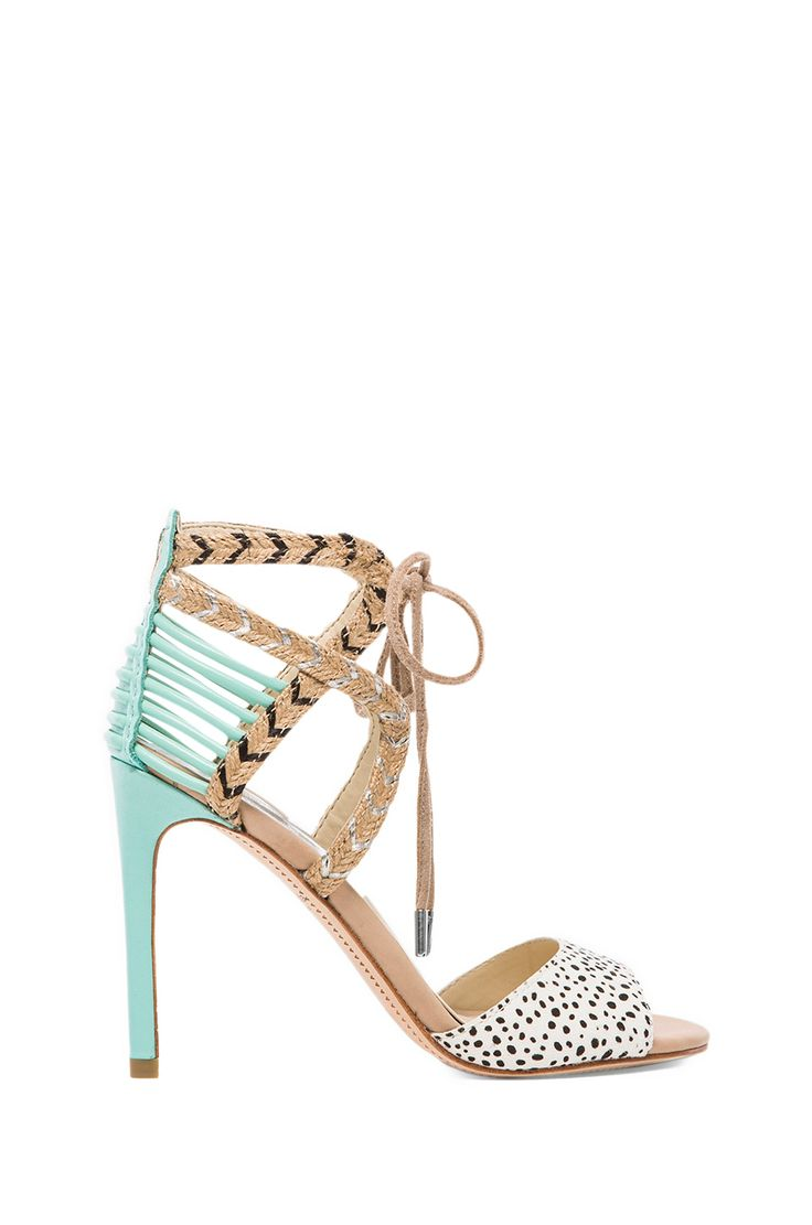 Dolce Vita Hexen Heel In Spotted Mint Stomping Ground 靴