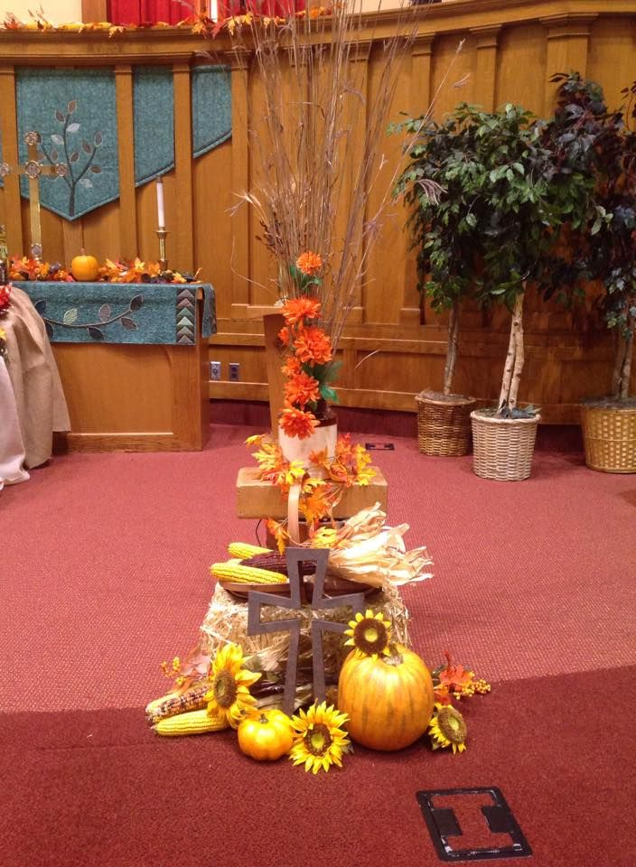 first united methodist church fort dodge ia 2014 harvest decorations selected and - Harvest Decorations