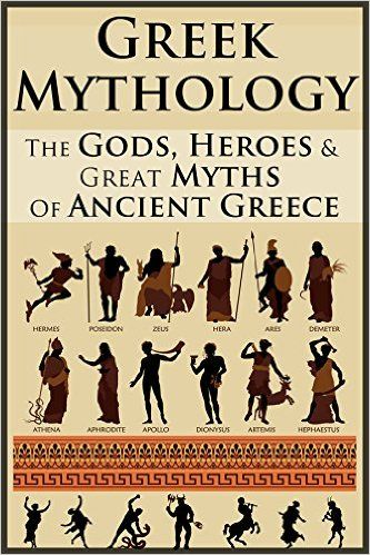 Greek mythology books non fiction