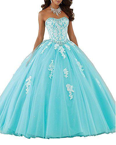 Erosebridal Sweetheart Ball Gown Quinceanera Dress Aqqliq...