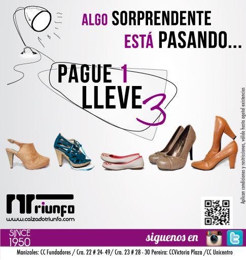 Promoción en redes sociales. calzaotriunfo.com