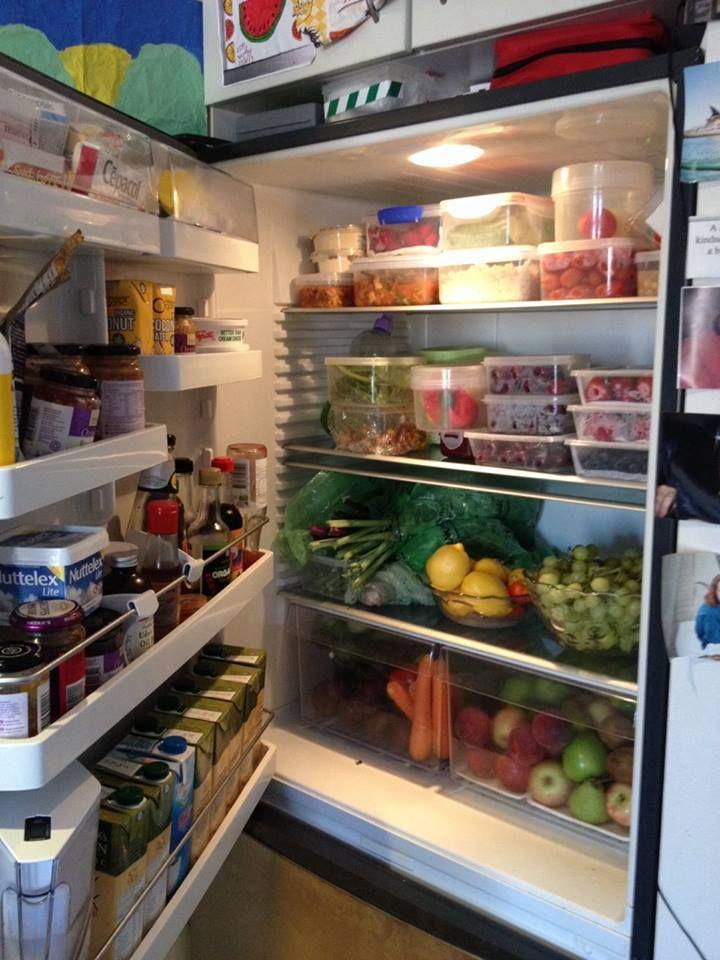 healthy fridge | Healthy fridge | Pinterest | Healthy and ... Organized Refrigerator Healthy