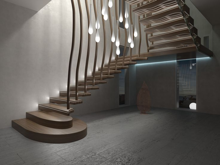 45 best Staircase renderings and design ideas images on Pinterest ...