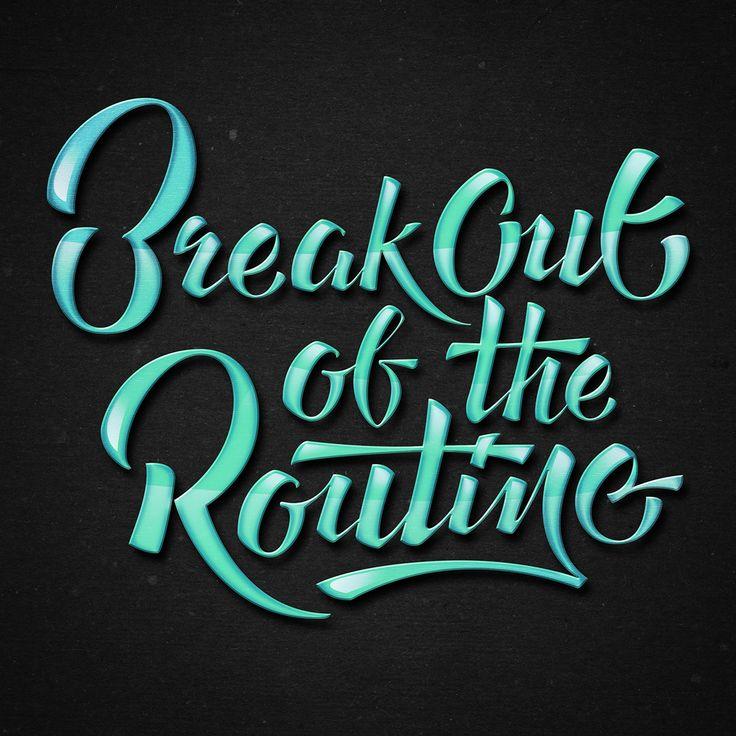 Break Out on Behance