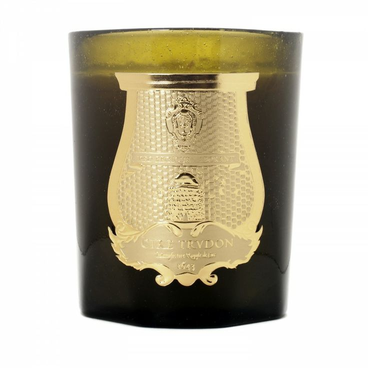 Pondichery Scented Candle by Cire Trudon / orange, ginger, patchouli, vetiver, and musk.