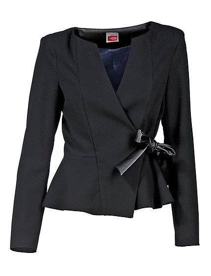 Short jacket with elastane for maximum comfort