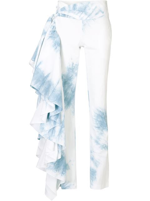 Shop Rosie Assoulin 'Fiesta' tie-dye trousers  in Kirna Zabête from the world's best independent boutiques at farfetch.com. Shop 300 boutiques at one address.