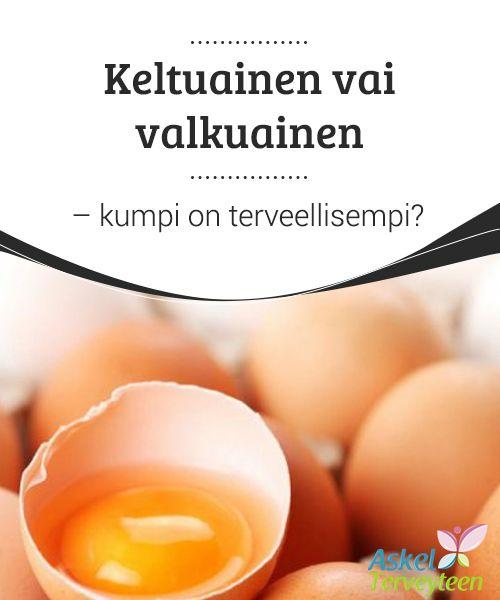 Keltuainen vai valkuainen - kumpi on terveellisempi?   #Kananmunan keltuainen ja valkuainen ovat #molemmat hyvin #terveellisiä omalla tavallaan.  #Terveellisetelämäntavat