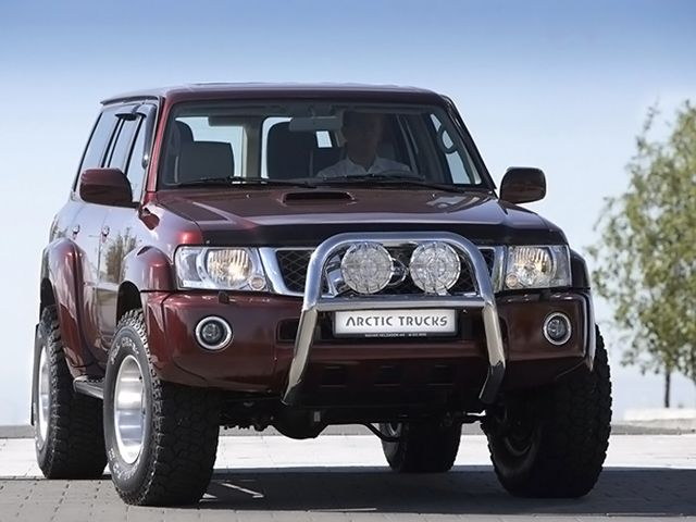 Arctic Trucks Nissan Patrol GR 5-door AT35 (Y61) '2004–н.в.