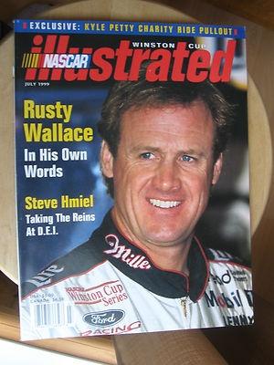 July 1999 NASCAR Illustrated Magazine Rusty Wallace | eBay