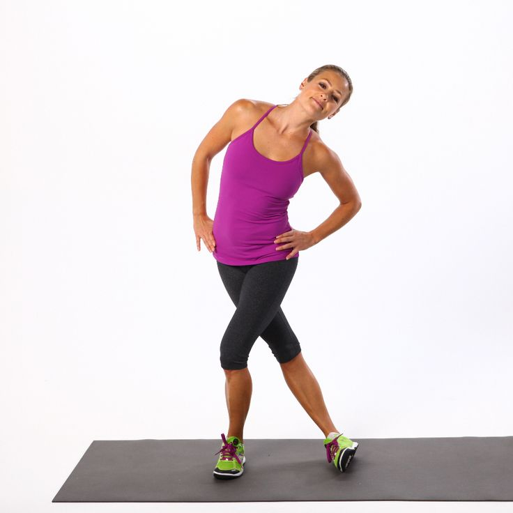 Knee Pain? Start Doing These Exercises ASAP. glute & IT band foam rolling, cross-legged stretch, wall stretch, single-balance touch, standing IT band stretch, side-lying leg lift, clam, single-leg lift bridge, squat walks w/ resistance bands, Bulgarian split lunge, side lunge, one-leg wall sit,