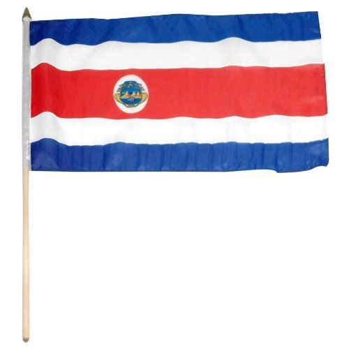 Save $ 1 when you buy US Flag Store Costa Rica Flag, 12 by 18-Inch at Patio Furn