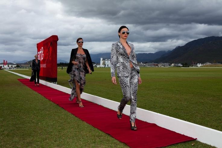 Art  Life Charity Event at Val De Vie Estate Cape Town 2012. Fashion Show Jenni Button by Warrick Gautier.