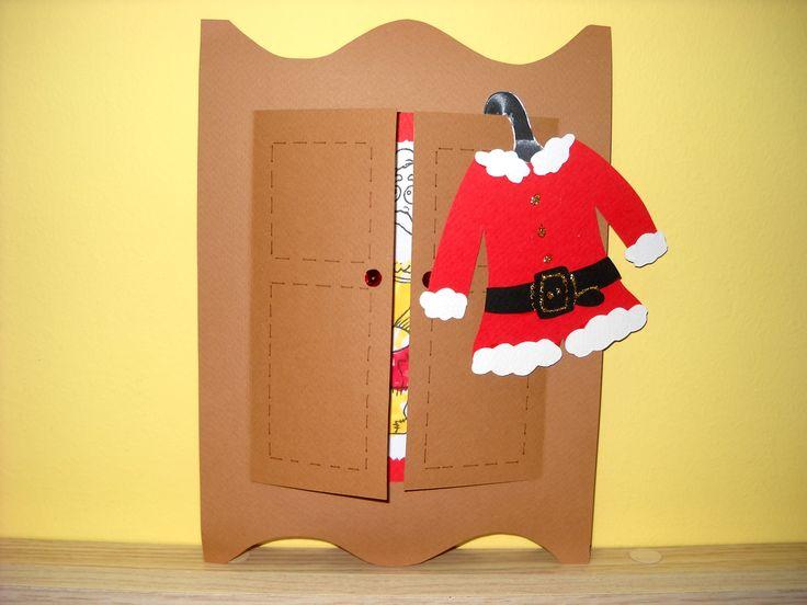Santa's closet!