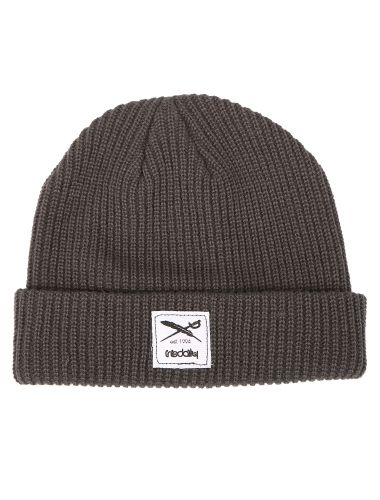 Kreuzkoelln Beanie [anthracite] // IRIEDAILY FALL WINTER 2015 COLLECTION – WE CAN BE HEROES. // OUT NOW: http://www.iriedaily.de/