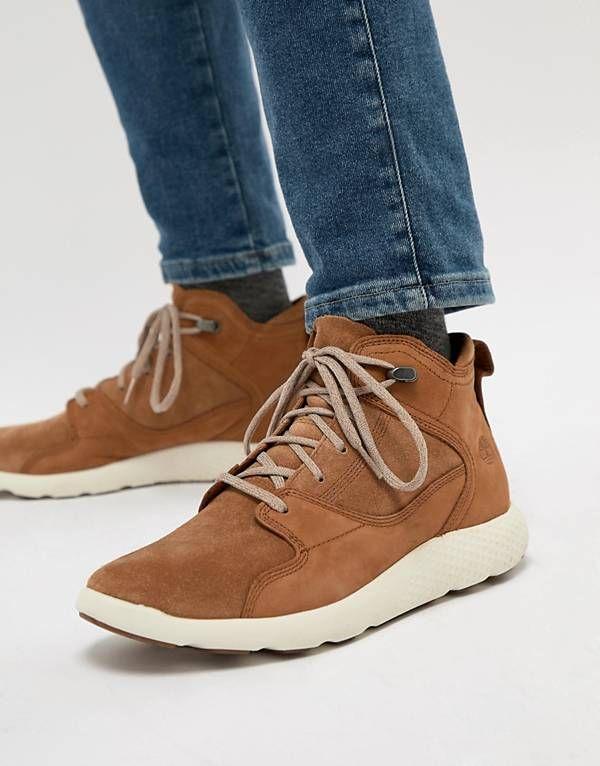 1d2860c845d0 Timberland Flyroam Suede Hi Top Sneakers
