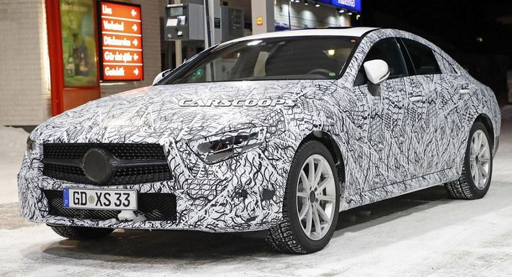 Upcoming Mercedes CLS To Be Offered With A Hybrid AMG Engine