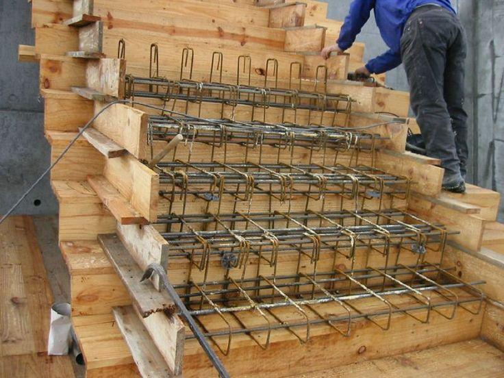 M s de 25 ideas incre bles sobre escaleras de concreto en for Planos de escaleras de concreto armado