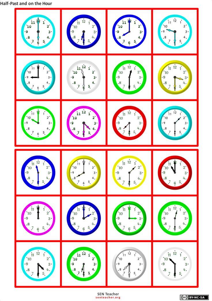 Bingo er en populær og morsom aktivitet som kan brukes til mange ulike temaer. F.eks kan man benytte bingo for å lære seg klokka. Her er en nettside som kan hjelpe deg å lage bingoark på en enkel o…