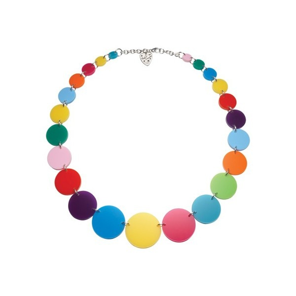 Link Necklace Multi Colored from Tatty Devine $69.95