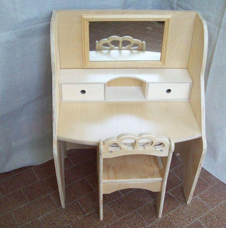 Toeletta, gioco per bambini in stile montessoriano. Realizzato in legno robusto su ordinazione -- Metodo Montessori per l'apprendimento dei bambini #montessori #montessoriano #mobilibambini