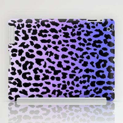Ice Leopard iPad Case