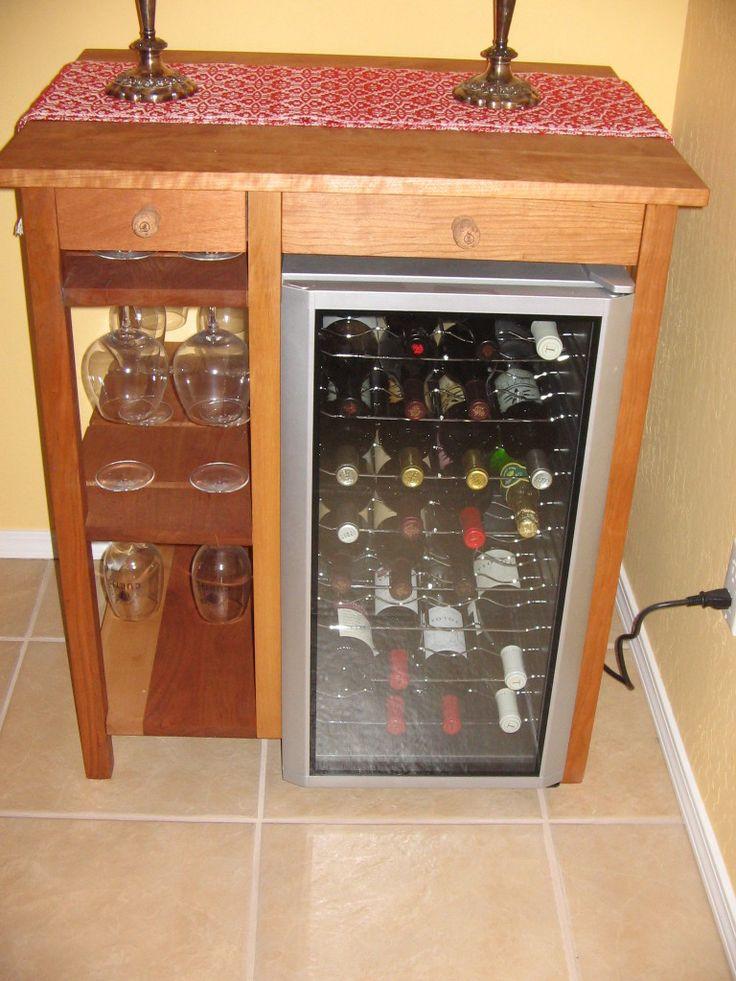 Cherry wine barmini fridge wine fridge