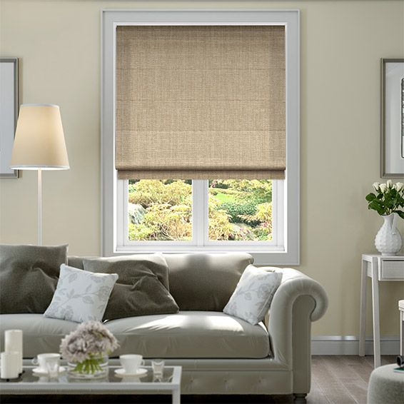 Cavendish Oatmeal Roman Blind