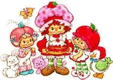 "My sister had all the Strawberry Shortcake and Friends figures and their little house.  She loved to play with her ""peoples."""