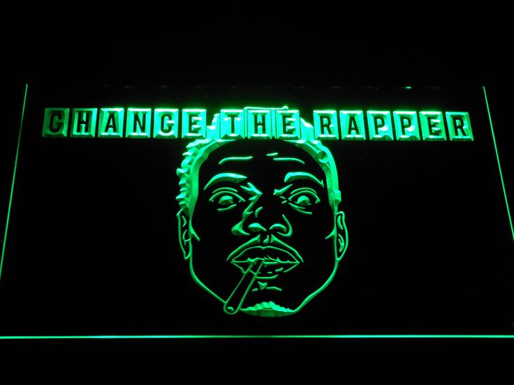 Chance the Rapper LED Neon Sign