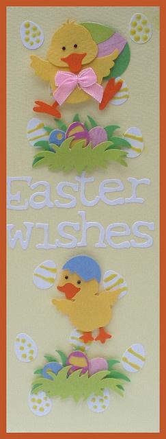 Handmade Easter cardEaster Card