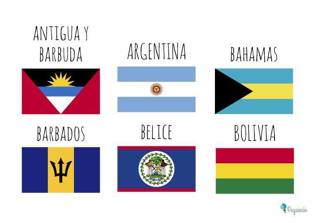 Banderas Del Mundo Para Imprimir Gratis In 2020 Social Studies