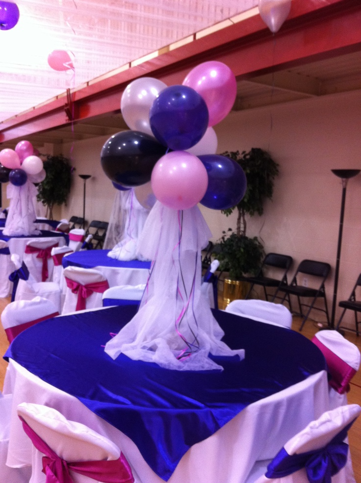Table Decorations For Our Daddy Daughter Dance Easy To