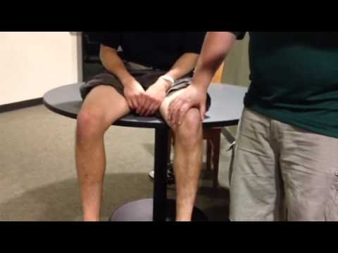 Stutter test for problematic medial plica.