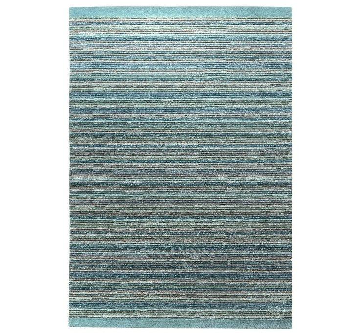 Esprit - Samba Stripes Blue Rugs