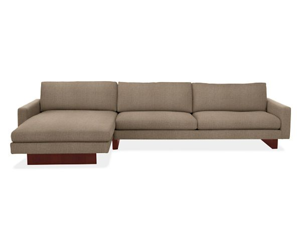 "Room & Board - Hess 129"" Sofa with Left-Arm Chaise"