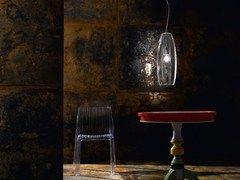 Glass pendant lamp PERONI S16 SE - de Majo Illuminazione