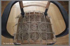 Restaurer un fauteuil, tuto du début jusqu'à la fin